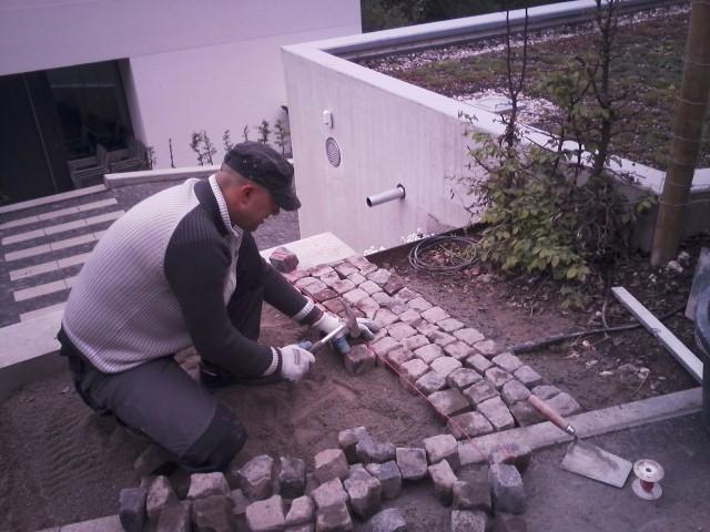 Pflaster-Arbeiten, Garten-Boss, Stuttgart